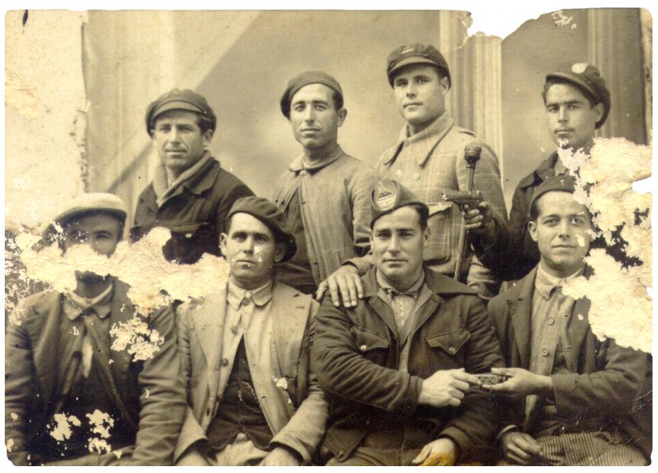 Guerra Civil Espejo milicianos