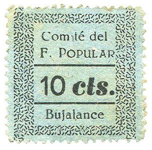 Guerra Civlil Bujalance 10 cts