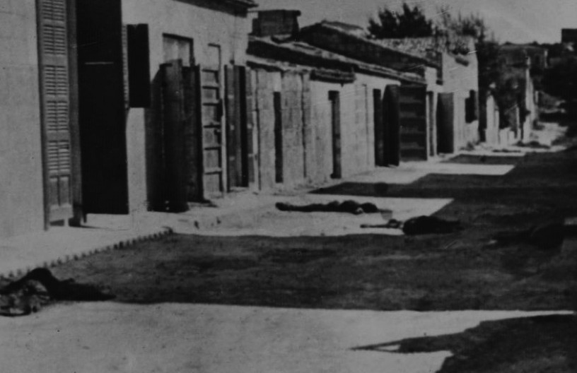 Guerra Civil cadáveres en una calle-web
