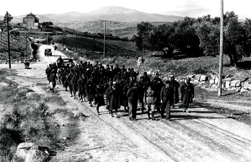 Guerra Civil columna tropas regulares-web