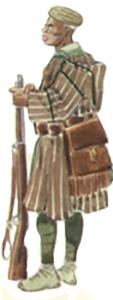 Askari uniforme de campaña