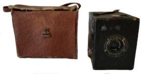 Cámara Coronet d20 box. Años 30