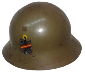 Casco español m-30 (checo)