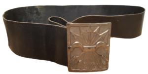 Cinturón con el emblema de la Falange