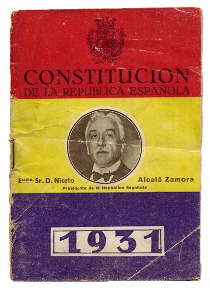 Constitución de la Segunda República