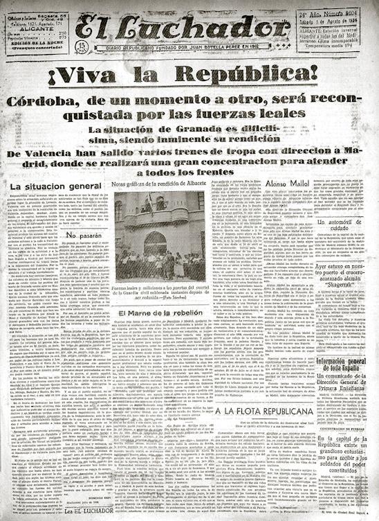 El luchador 1 Agosto 1936