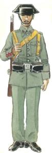 Guardia Civil uniforme servicio