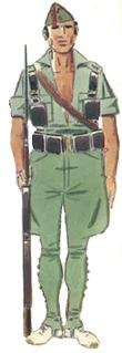 Legionario uniforme de campaña