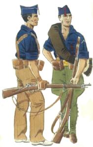 Milicias falangistas 1936