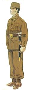Soldado de artillería ejército popular