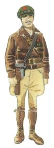 Teniente de Caballería ejército popular