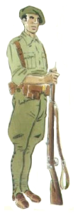 Voluntario Brigadas Navarras 1936
