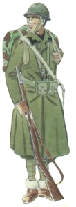 Voluntario Camisa negra italiano uniforme invierno 1936