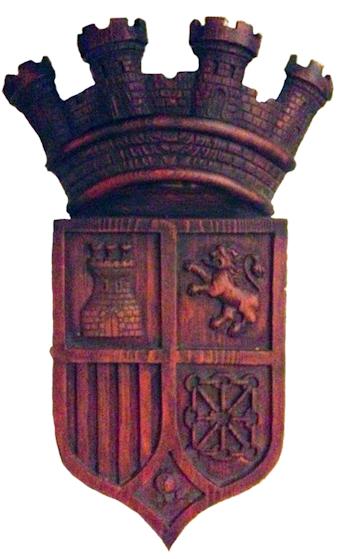 Insignia escudo de la República