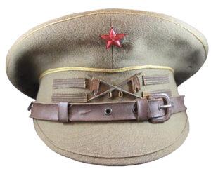 Gorra de plato republicana teniente de caballería